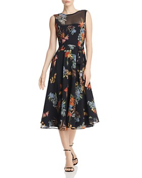 Marella - Pinta Floral-Print Midi Dress - 100% Exclusive