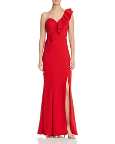 Bariano - Estella One-Shoulder Gown - 100% Exclusive