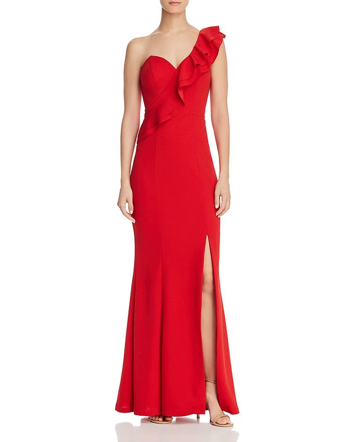 Bariano - Estella One-Shoulder Gown - 100% Exclusive