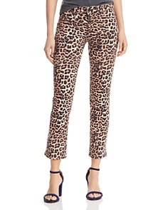 Hudson - Nico Cigarette Slim Jeans in Classic Leopard