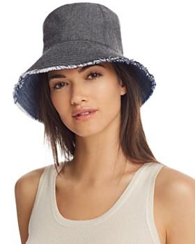 Eugenia Kim - Sara Reversible Denim Bucket Hat