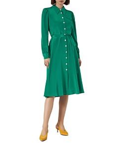 L.K.Bennett - Runa Silk Shirt Dress