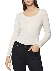 REISS - Bella Henley Sweater