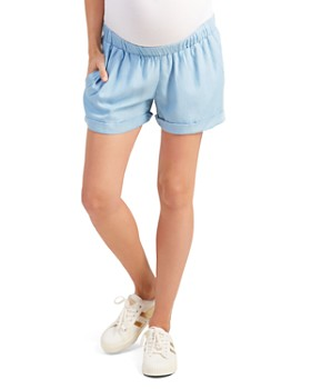 9178435594872 Ingrid & Isabel - Maternity Easy Cuffed Shorts ...