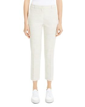 e04085163b Theory - Tailored Cropped Pants ...