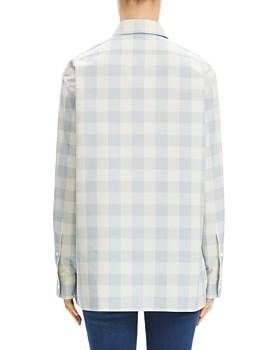 Theory - Gingham Classic Menswear Shirt