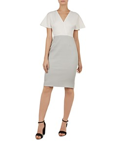 Ted Baker - Reemadd Color-Block Dress