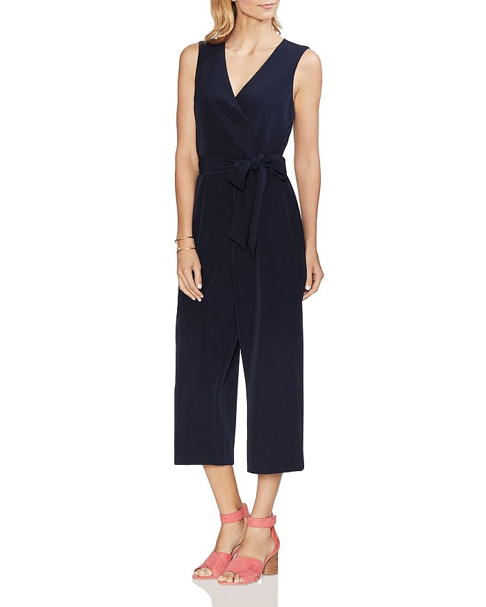VINCE CAMUTO - Sleeveless Cropped Jumpsuit