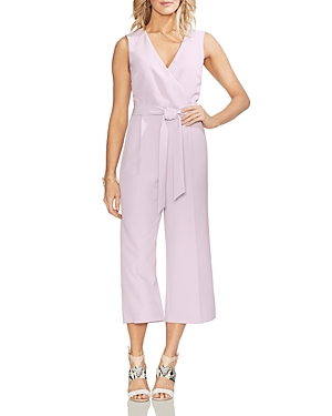 Vince Camuto Suits SLEEVELESS CROPPED JUMPSUIT