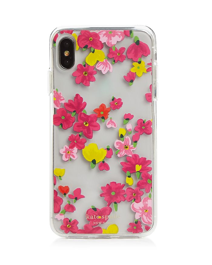 kate spade new york - Jeweled Floral XS Max iPhone Case