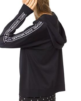 MICHAEL Michael Kors - Logo Zip Hoodie