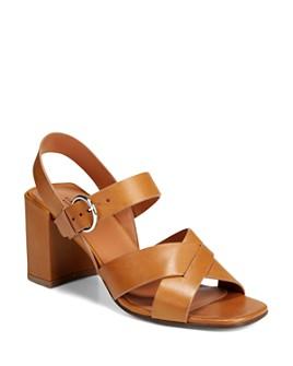 Via Spiga - Women's Opal Block Heel Sandals