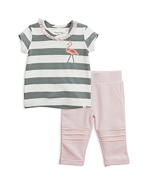 Sovereign Code Girls' Ortiza + Harley Tee & Leggings Set - Baby