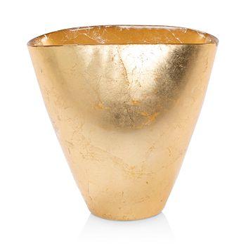 VIETRI - Moon Glass Leaf Medium Vase