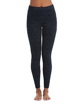 SPANX® - Denim Leopard Ankle Jean-ish Leggings