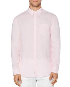 Original Penguin - Linen Slim Fit Button-Down Shirt