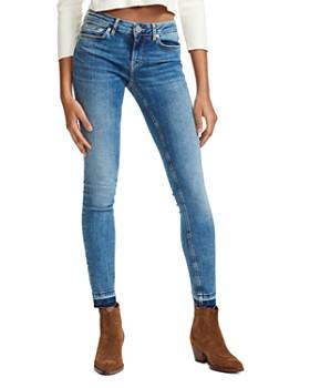 616e39b283b Maje - Probin Mid Rise Skinny Jeans in Denim ...