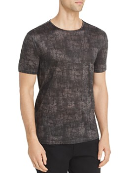 John Varvatos Collection - Abstract-Print Tee