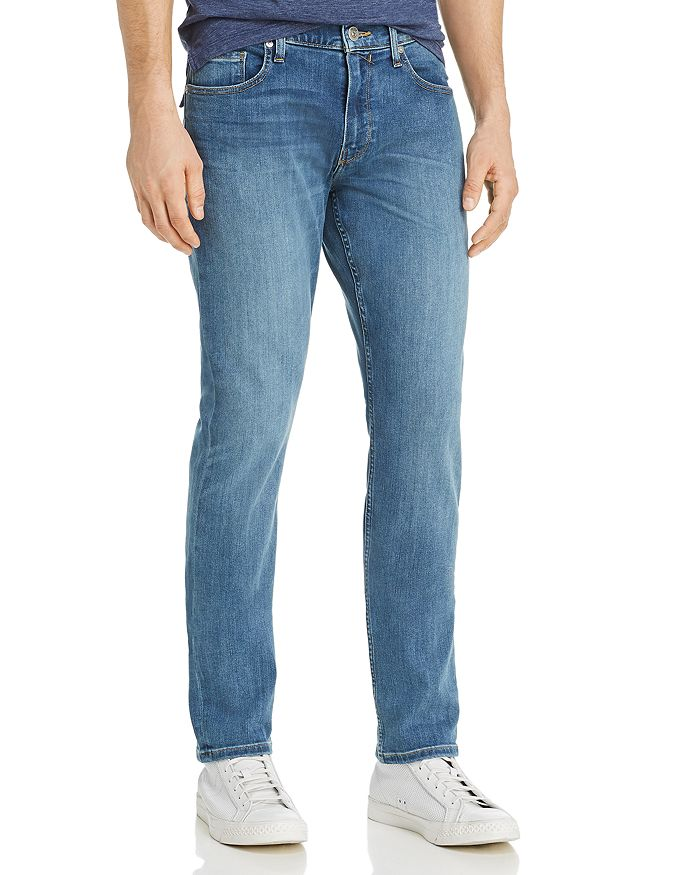 PAIGE - Federal Slim Straight Fit Jeans in Cartwright