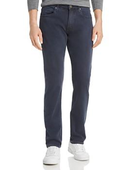 PAIGE - Federal Slim Straight Fit Jeans in Vintage Deep Sea