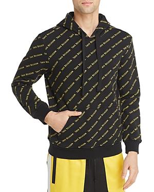 True Religion T-shirts BRAND-PRINT HOODED SWEATSHIRT