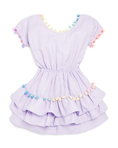 Peixoto - Girls' Nissi Pom-Pom Dress - Big Kid