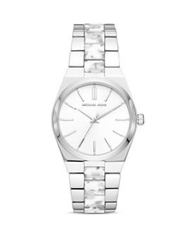 Michael Kors - Channing White Cloud Link Bracelet Watch, 36mm