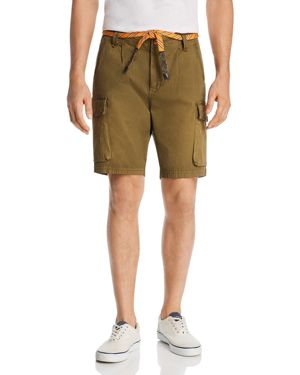 Scotch & Soda Washed Regular Fit Cargo Shorts