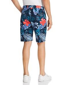 Scotch & Soda - Tropical-Print Regular Fit Chino Shorts