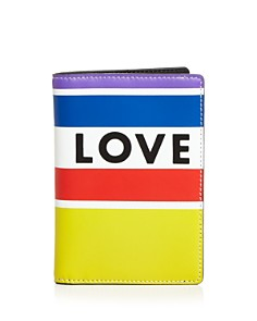Rebecca Minkoff - Love Rainbow Passport Holder