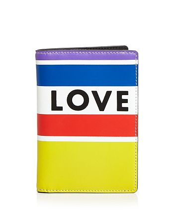 Rebecca Minkoff - Love Rainbow Passport Holder