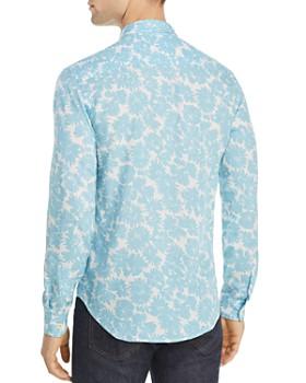 Sandro - Flower Slim Fit Shirt - 100% Exclusive