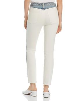 Joie - Gracelyn Mixed-Wash Straight Jeans in Borderline