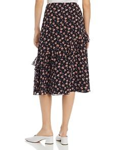 Joie - Langlee Floral-Print Silk Midi Skirt - 100% Exclusive