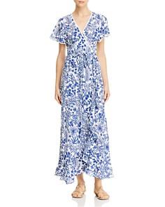 Poupette St. Barth - Joe Wrap Maxi Dress
