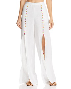 All Things Mochi - Gaho Slit Wide-Leg Pants