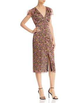 The East Order - Freya Floral Midi Dress