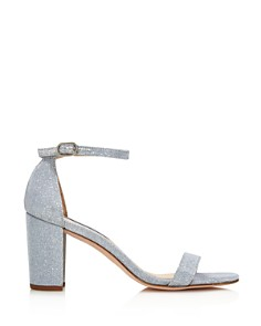 Stuart Weitzman - Women's Nearly Nude Block Heel Sandals