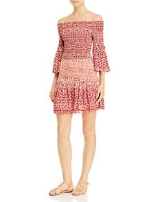 Poupette St. Barth - Tamara Smocked Mini Skirt