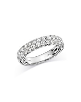 Bloomingdale's - Pavé Diamond Band in 14K White Gold, 1.05 ct. t.w. - 100% Exclusive