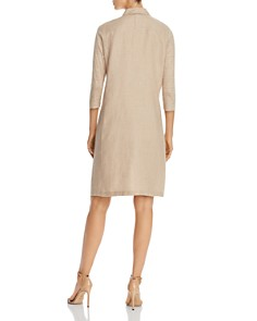 Lafayette 148 New York - Zac Contrast-Sleeve Shift Dress