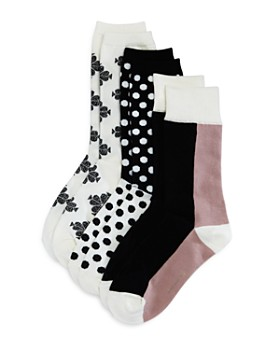 kate spade new york - Crew Socks, Set of 3