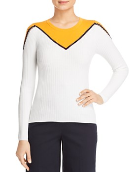4e88dad32 KAREN MILLEN - Color-Block Crewneck Sweater - 100% Exclusive ...