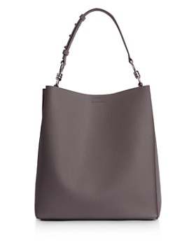 ALLSAINTS - Captain North South Leather Tote