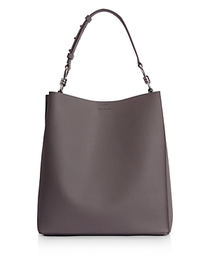 Allsaints Totes CAPTAIN NORTH SOUTH LEATHER TOTE