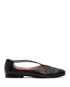 Taryn Rose - Women's Alessandra Leather Ballet Flats