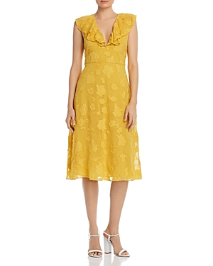 Joie Dresses ADELLA FLORAL EMBROIDERED DRESS