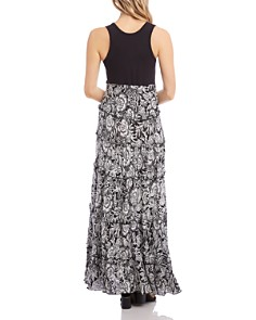 Karen Kane - Topanga Tiered-Floral Maxi Dress