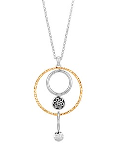 JOHN HARDY - 18K Yellow Gold & Sterling Silver Dot  Long Drop Pendant Necklace, 36""
