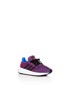 Adidas - Girls' Swift Run Knit Low-Top Sneakers - Walker, Toddler